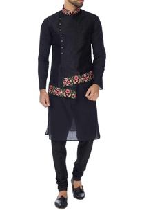 black-art-khadi-silk-bundhi-jacket