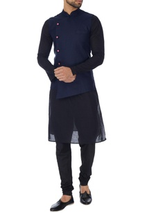 navy-blue-cross-over-jute-bandhi-jacket
