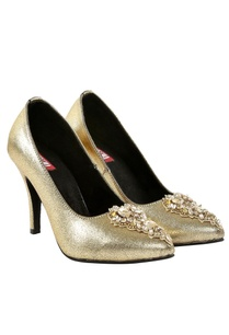 gold-dorsay-peep-toe-heels