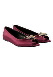 purple-peep-toe-ballet-flats