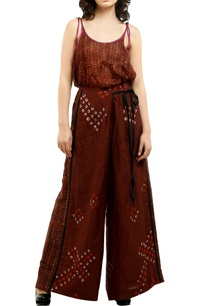 brown-cotton-silk-printed-palazzos