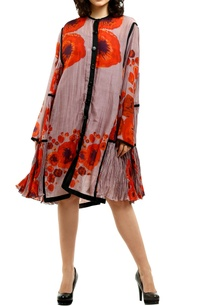 pink-cotton-silk-printed-short-dress-with-inner