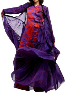 purple-printed-flowy-cape