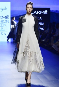 off-white-crepe-tulle-net-lycra-embroidered-dress-and-leggings-with-black-organza-applique-jacket
