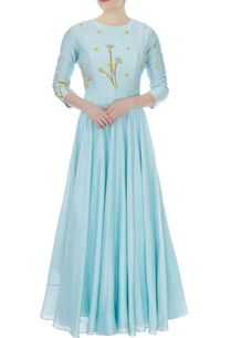 powder-blue-chanderi-embroidered-maxi-dress