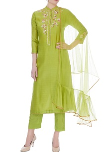 lime-green-chanderi-handloom-embroidered-anarkali-set