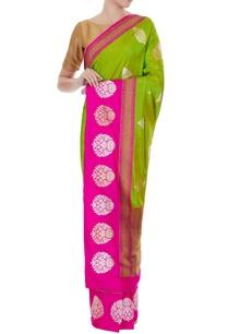 green-pink-handwoven-pure-banarasi-silk-zari-motifs-sari