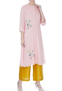 pastel-pink-machine-hand-embroidered-kurta