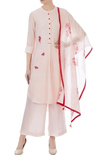 peach-georgette-aari-buta-embroidered-kurta-set