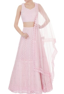 powder-pink-net-zircon-work-lehenga-with-blouse-dupatta