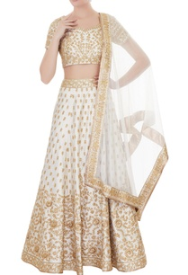 ivory-raw-silk-zari-sequin-lehenga-with-blouse-dupatta