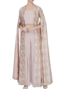 pale-muave-georgette-thread-embroidery-floor-length-cape-with-palazzos-bustier