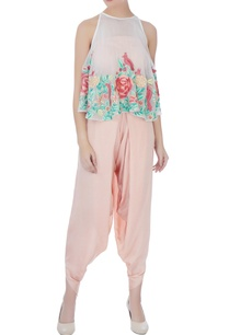 peach-thread-embroidery-dhoti-pants-with-blouse