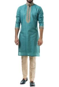 blue-silk-thread-work-kurta