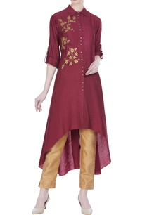 sequins-embroidered-collar-style-tunic