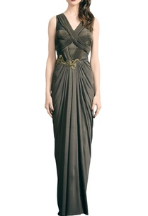 olive-jersey-embroidered-maxi-dress