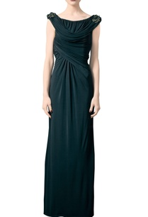 black-jersey-embroidered-maxi-dress
