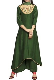 green-pure-georgette-flat-chiffon-tissue-embriodered-palazzo-set
