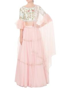 baby-pink-cutdana-resham-embroidered-lehenga-set