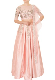 pastel-pink-raw-silk-nalki-bead-embroidered-lehenga-set