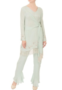 mint-green-cutdana-crepe-silk-kurta-with-pants