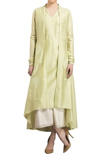 mint-green-chanderi-tree-embroidered-anarkali-jacket-with-palazzo-and-inner