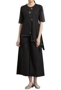 black-warli-printed-blouse