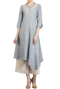 slate-grey-sequence-embroidered-kurta-with-palazzos