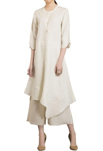 ivory-linen-sequence-embroidered-kurta-with-palazzos