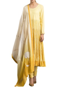 yellow-cambric-ombre-embroidery-anarkali-with-churidar-and-dupatta