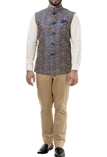 navy-blue-raw-silk-nehru-jacket