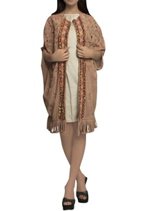 peach-puff-pale-golden-pure-handloom-hand-embroidered-dress-with-jacket