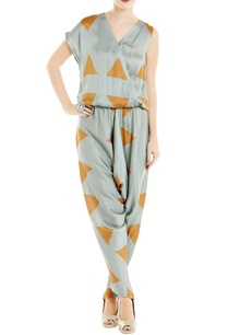 blue-orange-printed-satin-jumpsuit