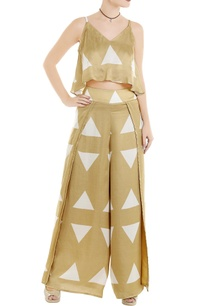 beige-flap-style-palazzo-pants