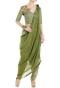 green-tropical-printed-crop-top-with-cowl-pants-dupatta