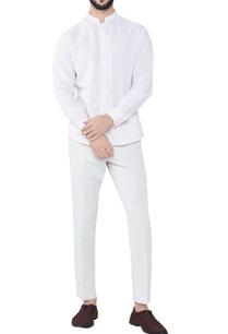 pink-cotton-linen-mandarin-collar-kurta