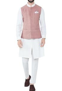 cinnamon-hand-woven-cotton-bandi-jacket