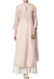 blush-chanderi-mulmul-kurta