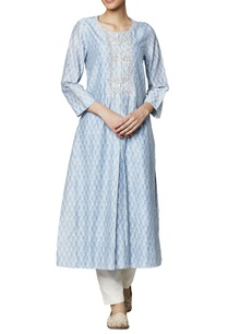 powder-blue-modal-silk-kurta