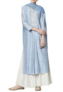powder-blue-modal-silk-kurta-sharara-dupatta