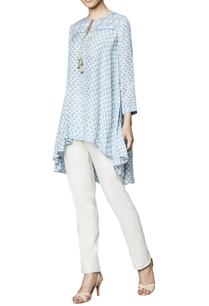 powder-blue-modal-blouse