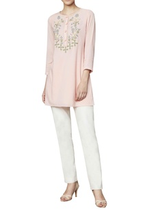 blush-cotton-georgette-blouse