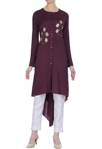 floral-thread-embroidered-tunic