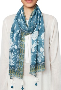 blue-bamberg-georgette-scarf