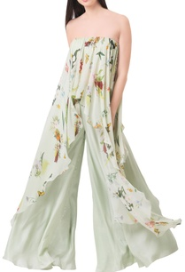 pista-green-georgette-printed-off-shoulder-blouse