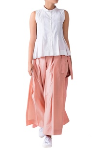 pink-cotton-poplin-pleated-pants