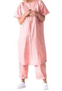 pale-pink-poplin-boxy-kurta