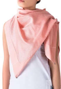 pink-polka-dotted-scarf