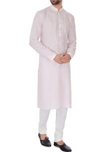 pale-pink-linen-embroidered-kurta-pyjamas