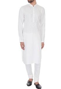ivory-linen-embroidered-kurta-pyjamas